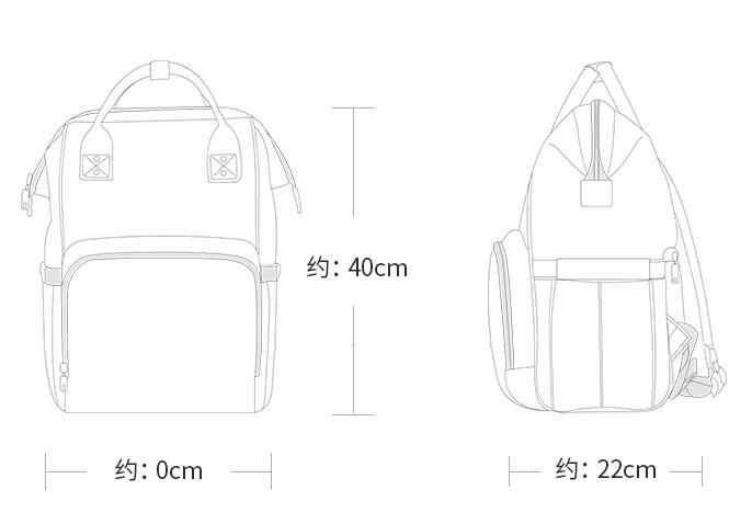 Сумка для подгузников Многофункциональный Водонепроницаемый рюкзак для путешествий подгузник сумки для ухода за ребенком 2019 большая емкость