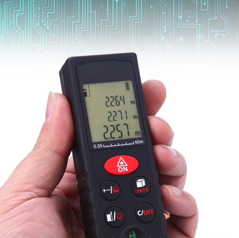60m Handle Digital Laser Distance Meter Range Finder Measure Diastimeter Distance Meter  цены