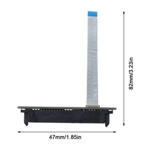 Image 5 - Nuevo SATA Disco Duro cable conector flexible para HDD para HP Pavilion 14 ce1001TU ENVY 15 15 j105tx 15 j portátil DW15 6017B0416801 qiang