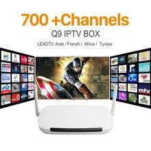 2017 Android Tv Box Media Player Q9 DDR3 1 Г/8 Г Wi-Fi 1 Год Подписки Iptv Iptv Счета Leadtv Европа Арабский IPTV каналы