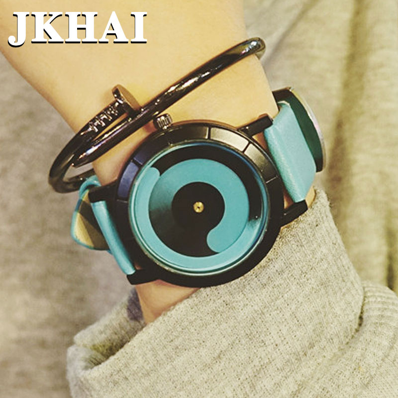 Watch the Creative Metrosexual Personality Concept of a Korean Couple Watch Fashion Popular Retro Korean Female Students concept of vortex female student individuality creative watch han edition contracted fashion female table