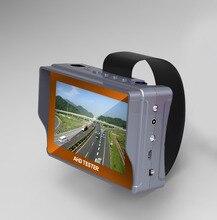 4.3 אינץ HD CCTV Tester צג CVBS AHD 1080P אנלוגי מצלמה בודק UTP כבל Tester 12V1A פלט