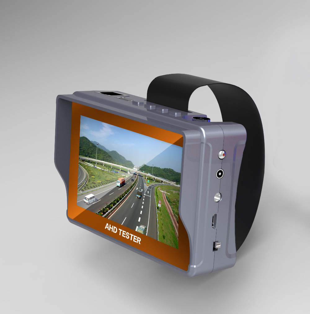 4.3 pouce HD CCTV Testeur Moniteur CVBS AHD 1080 p Caméra Analogique Testeur PTZ UTP Câble Testeur 12V1A Sortie
