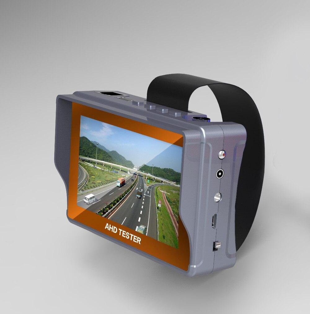 4.3 pouces HD CCTV testeur moniteur CVBS AHD 1080 P analogique caméra testeur PTZ UTP câble testeur 12V1A sortie
