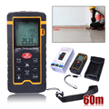 9 Key 60M/197ft/2362in Laser Distance Meter Range Finder Measure Diastimeter