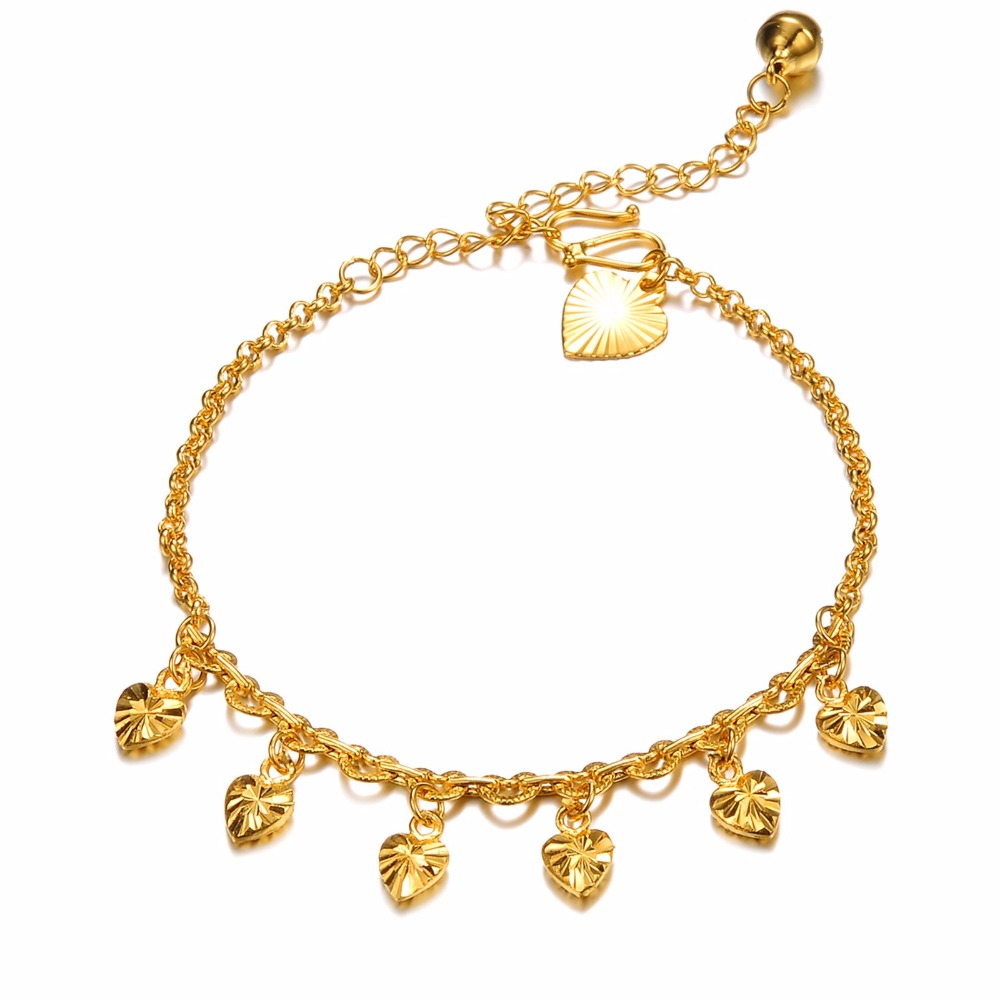 jewelry classic elegant classic anklets wholesale KZ724 bell heart