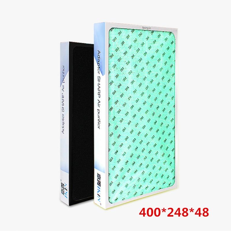 For Sharp Air Purifier Parts KC-W280SW/R KC-Z280SW KC-CD30-W KC-BB30-W KC-WB3-W KC-BD30-S KC-C100SC/W/R HEPA Composite filter цена