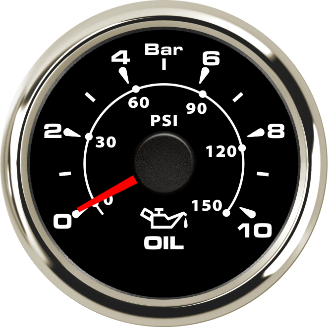 1pc new style 52mm oil pressure gauges tuning 0-10bar lcd waterproof oil pressure meters 0-50psi with red green blue backlight цена