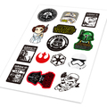 Star wars anakin skywalker darth vader logo ho auto car motor decal set cubierta de pegatinas ipad notebook portátil de handy car-estilo
