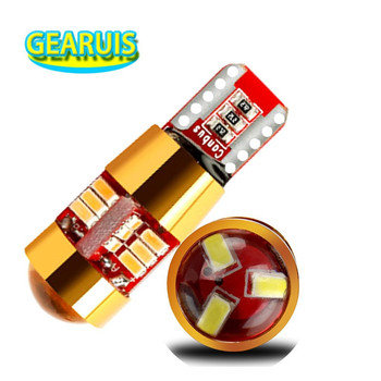 2X 6 Colors T10 Canbus Lens Spot W5W 27 SMD 3014 LED canbus no error Wedge Light For BMW X3 X5 X6 Audi Q5 Q3 A4 A5 12V image