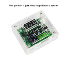 W1209 DC12V Cool Temp Thermostat Temperature Control Switch Temperature Controller Acrylic Box (Only The Box)