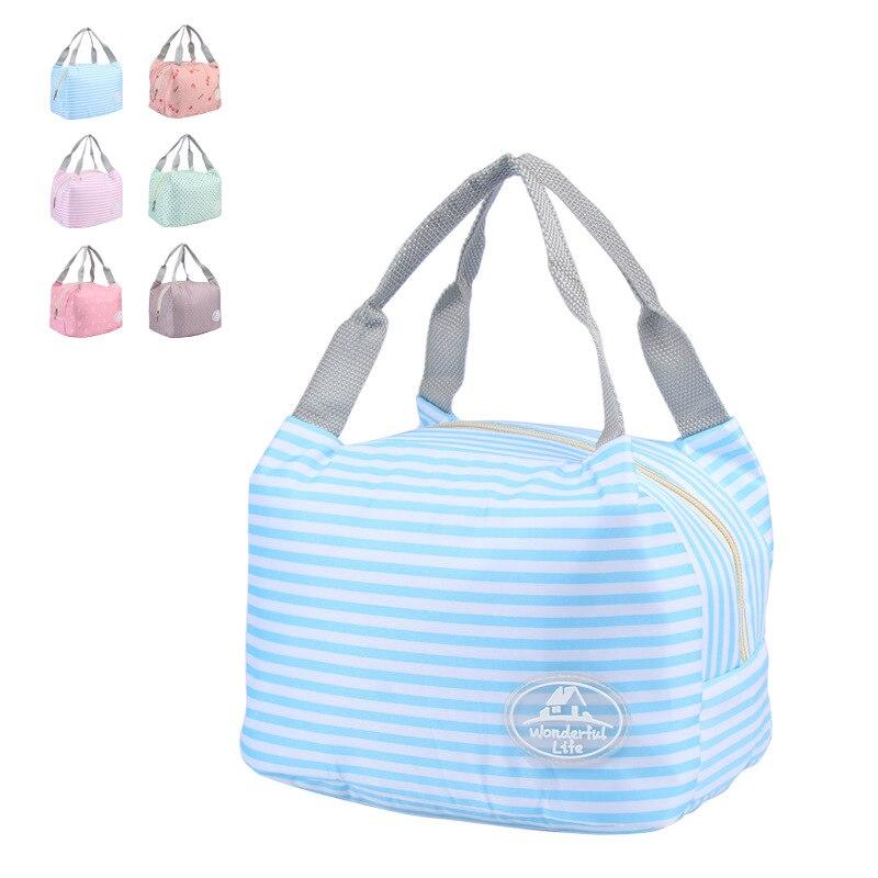 Миссис Win Новая мода lancheira Коробки для обедов изолированные обед кулер сумки для Для женщин Термальность мешок обед Bolsa Termica wcb46