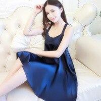 2019 Hot Sale Nightgown Nightwear Sleepdress Girl Summer Sleepwear Princess Sexy Sweet Loose Autumn Beautiful Back