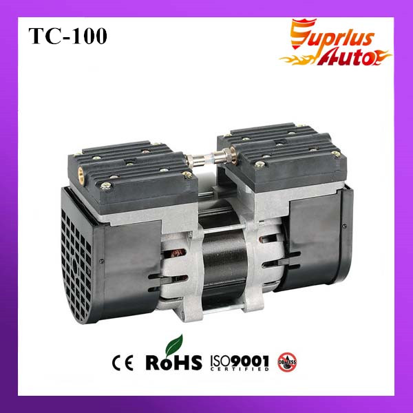110V /220V (AC) 24L/MIN 100 W oil free diaphragm pump 3.6 bar vacuum pump TC-100 gz 50 24 24v dc 33l min 50 w oil free diaphragm vacuum pump