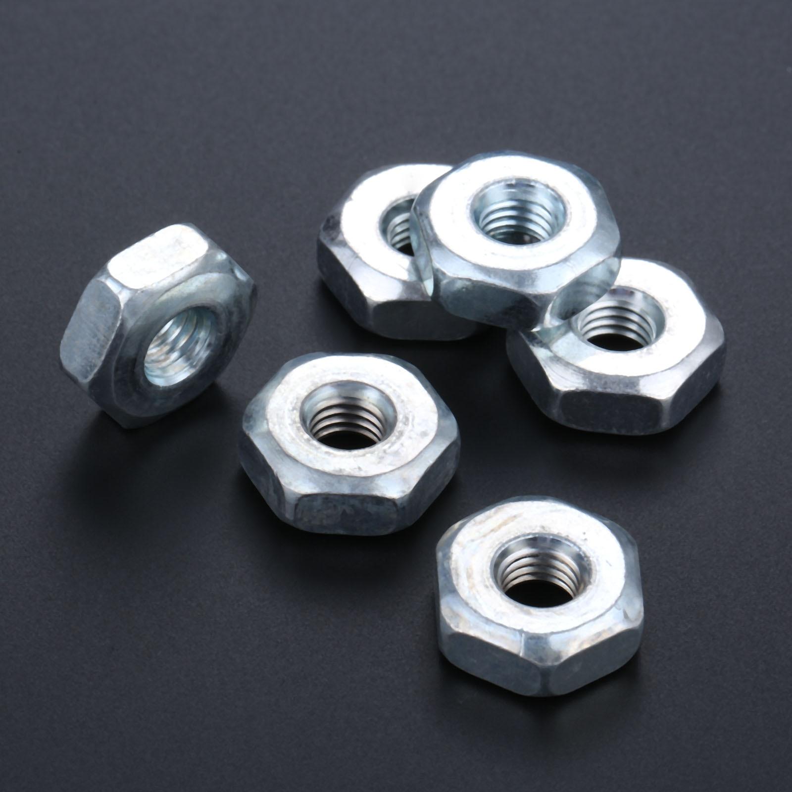 DRELD 6pcs Sprocket Cover Bar Nut For STIHL MS240 MS260 MS270 MS280 MS290 MS310 MS390 MS340 MS360 MS360C MS440 MS460 Chainsaw