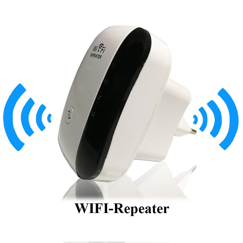 Wireless Wifi Repeater Signal Booster 802.11n/b/g Network Mini WiFi Adapter 300Mbps Wi-fi Range Expander Wps Encryption
