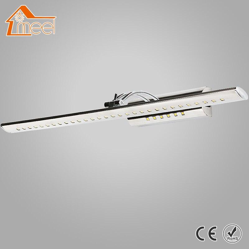 Led Miroir Front Light 7 w 9 w 15 w LED Mur Lampe 85-265 v Étanche Monté Acrylique appliques Lampe Intérieure Salle De Bains Éclairage