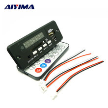 AIYIMA 5 V-12 V Universel MP3 Décodeur Conseil FM Radio Affichage MP3 Décodeur Audio Accessoires