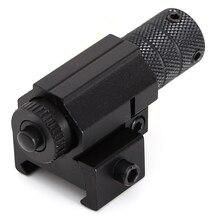 купить Powerful Laser Pointer Mini Red Laser Sight Picatinny Rail Mount Set for Gun Rifle Pistol Shot Airsoft  Hunting Scope Accessorie по цене 265.96 рублей