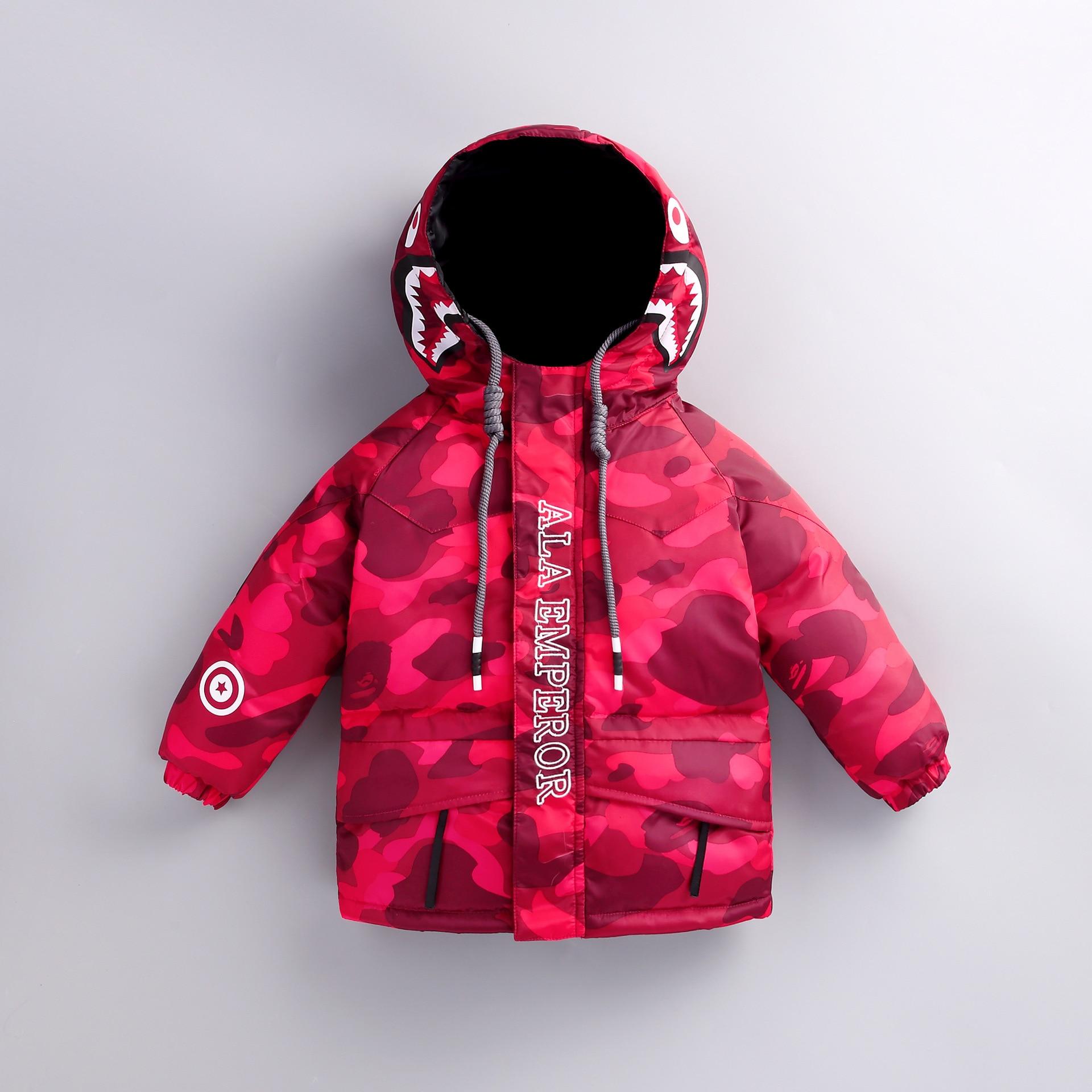 New style children winter jackets fashion Down & Parkas thicken boys warm snowsuit hooded girls winter clothing down kids coats стоимость