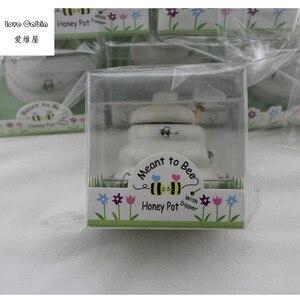 Image 2 - Предназначено для пчелиного керамического медового горшка 10 шт./лот свадебные подарки для невесты