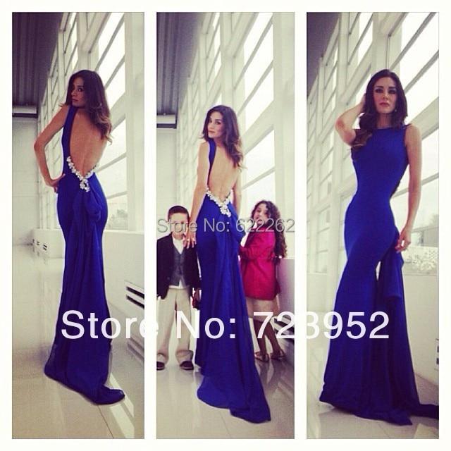 Online Get Cheap Blue Prom Dresses 2014 -Aliexpress.com   Alibaba ...