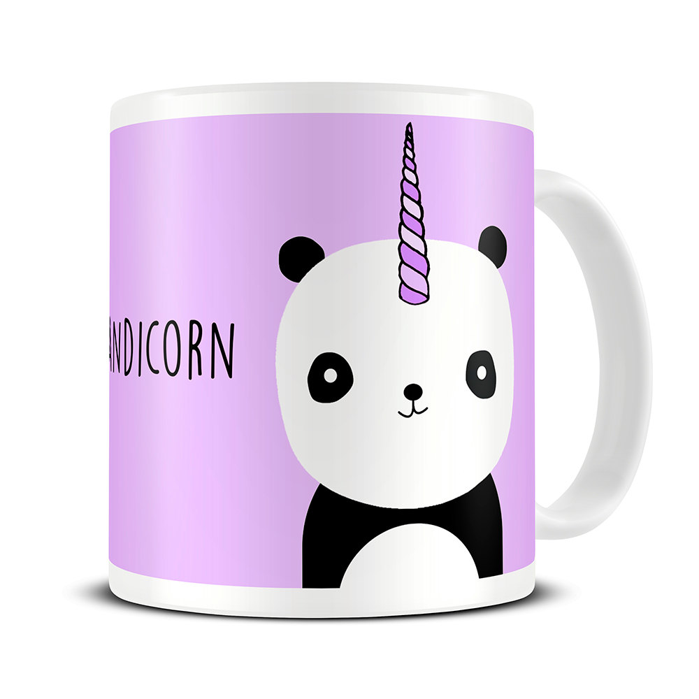 panda unicorn Mug Mugs coffee mugs ceramic Tea Cups porcelain decal home kitchen milk mugen