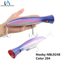 Noeby NBL 9248 Fishing Hard Lure Big Mouth Popper Lure 200mm 115g Long Casting Trolling Fishing