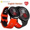 [ENGLISH VERSION]Original Xiaomi Huami Watch AMAZFIT Pace Bluetooth 4.0 Sports Smart Watch Zirconia Ceramics Heart Rate Monitor