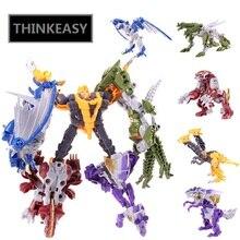 5 IN 1 SUPER TRANSFORMATION ROBOT DRAGEN ALLIANCE ANIMAL MACHINE  Anime Figures Toy For Children Gift Model Deformation Toys