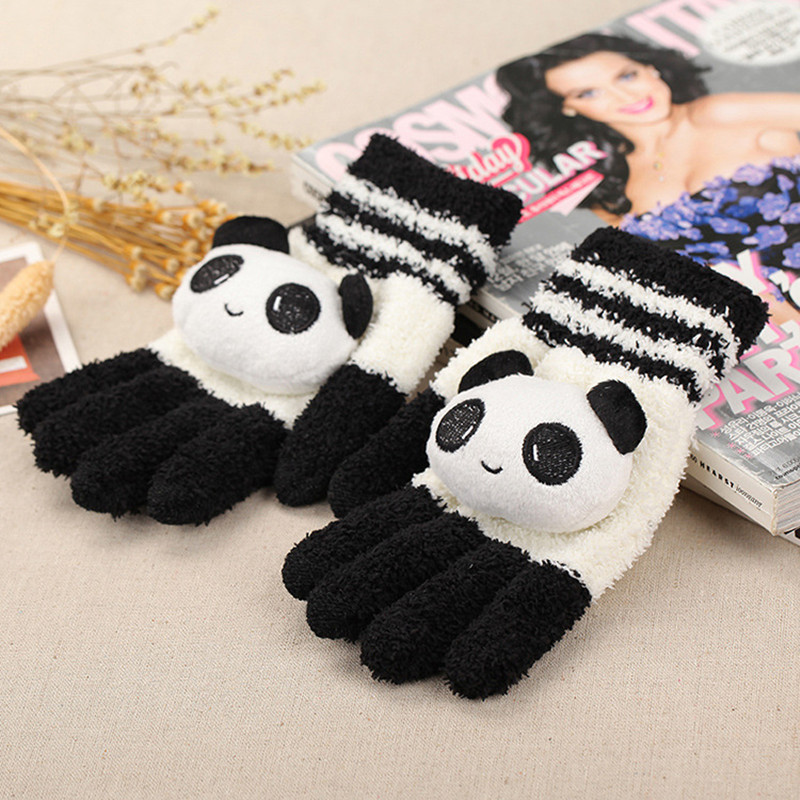 f99d36745 first look b4135 2e239 lady new winter plus thick velvet mittens ...