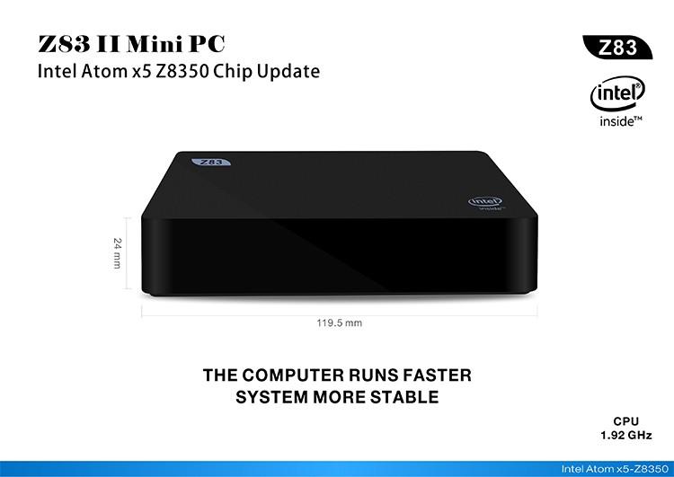 Z83II MiniPC-Intel-x5-Z8350-1