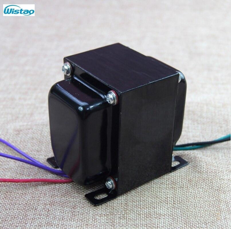 AMPLIFICADOR DE TUBO DE transformador de salida de 40 W Pull-empujar Z11 de acero de silicio EI para tirar, empujar-tubo amplificador de potencia de Audio HIFI DIY