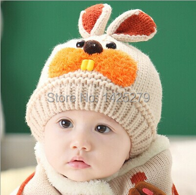d8c4e1e9f07 Cute Baby Winter Hat Baby Crochet Caps Beanie Baby Photography Props Baby  Caps Knitted Animal Beanies Winter Cap for Boy Girl-in Hats   Caps from  Mother ...