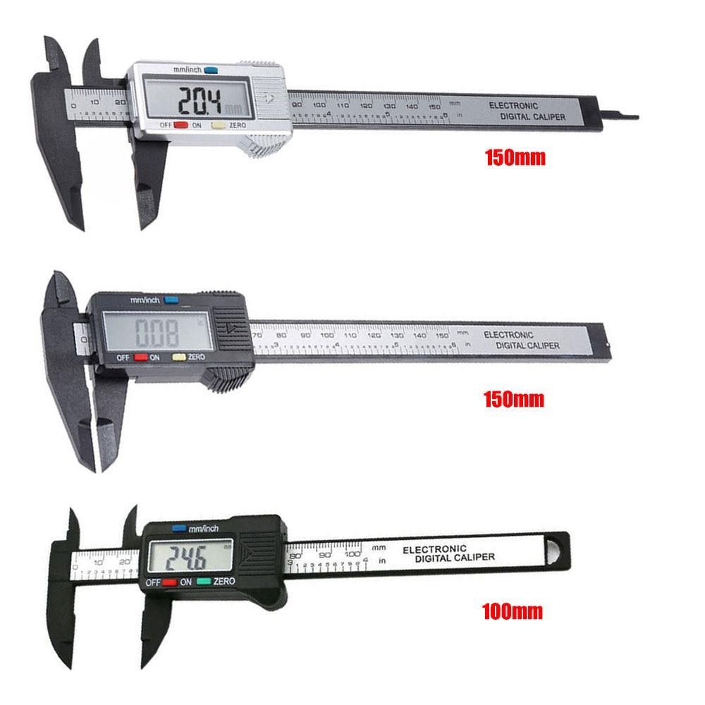 Image 5 - Digital Caliper 6 inch Electronic Vernier Caliper 100mm Calliper Micrometer Digital Ruler Measuring Tool 150mm 0.1mm-in Calipers from Tools