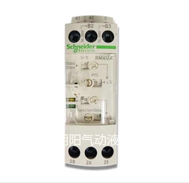 Schneider Overvoltage Or Undervoltage Control Relay RM4UA33MW