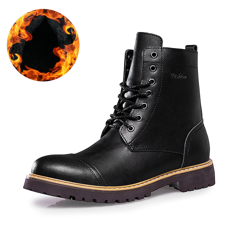 HOT Sale Autumn and Winter Casual Snow Boots Men Waterproof Military Boot Ankle Boot Slip-Resistant Fashion Man Shoes Big Size 2016 sale professional men s boots camouflage military boot waterproof hunting hiking shoes size euro 39 44 bo01