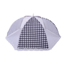 1PC Foldable Food Cover Umbrella Fly Mosquito Mesh Net Kitchen Picnic BBQ Party Tool  Anti