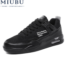 Hot Sale Men Tennis Shoes Light Breathable Air Cushioning Mesh Male Sneakers Fashion Walking Trainers Tenis Masculino Adulto