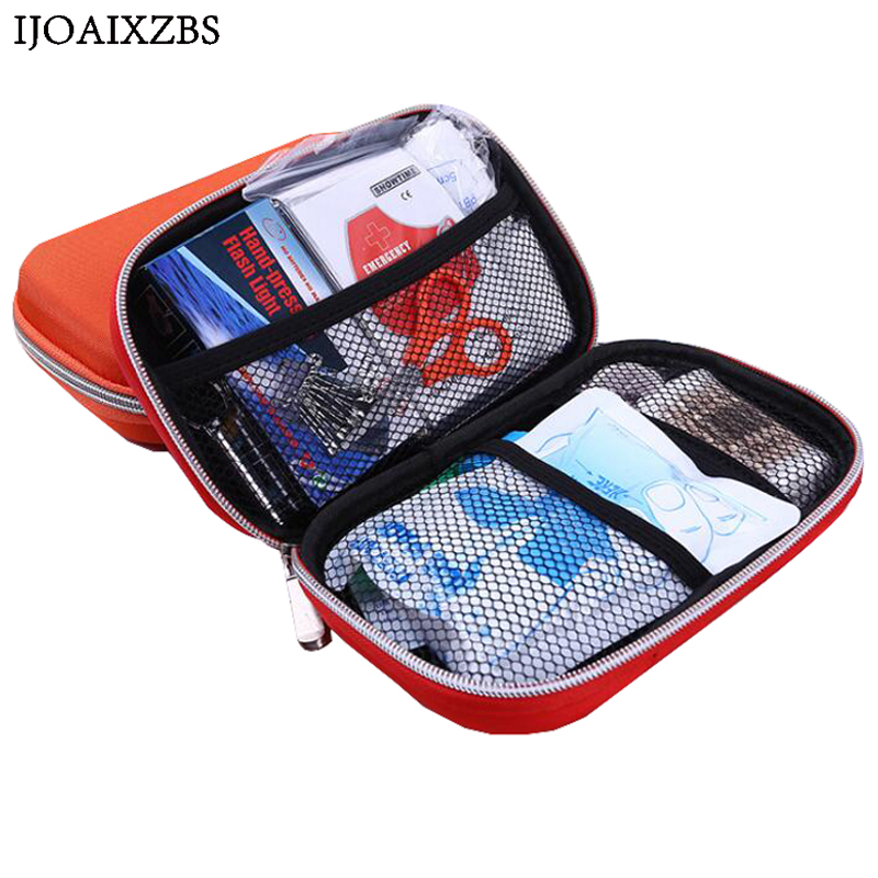 Portable First Aid Bag Kit Pouch Home Office Medical Emergency Travel Rescue Case Medical Package Outdoor Wilderness Survival empty bag for travel medical kit outdoor emergency kit home first aid kit treatment pack camping mini survival bag