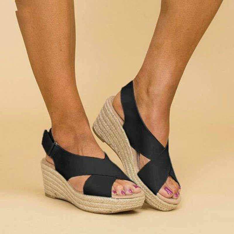 Women's Espadrille Wedges Sandals