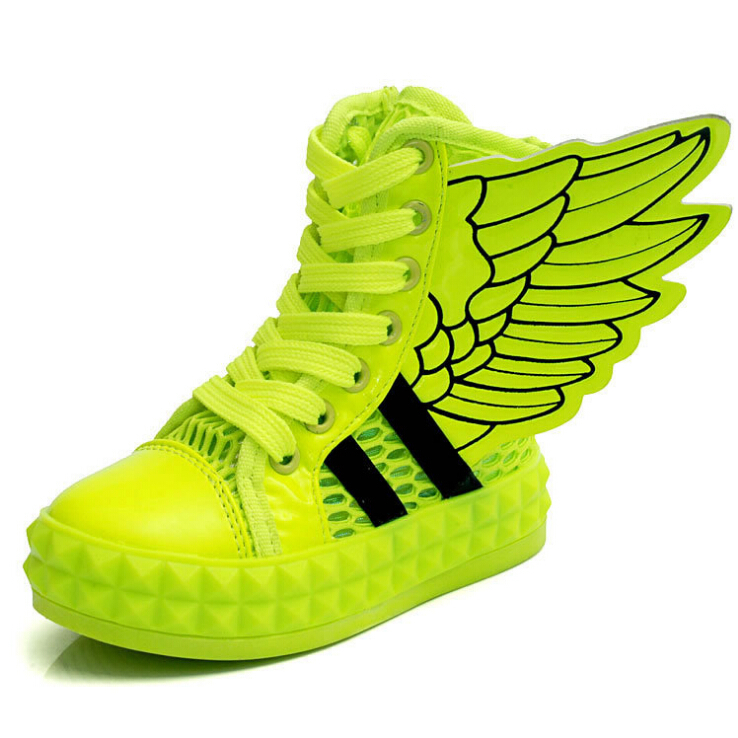 shoes with the wings