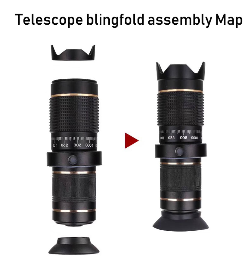 Telescope telephoto TEETH discount 8