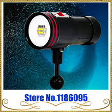 free shipping Professional Diving Flashlight ARCHON D36VR(W42VR) 100M Underwater Diving Light XM-L 5200 Lumens WITHOUT Battery