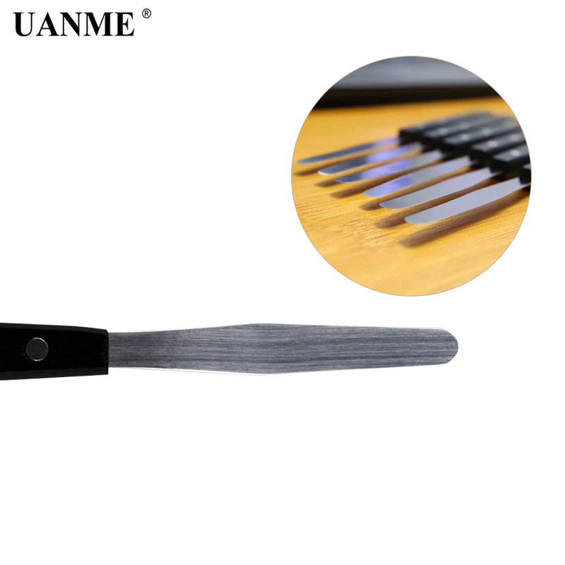 0 1mm Ultra Thin Flexible Durable Stainless Steel Pry Spudger Disassemble Knife for iPhone iPad Samsung Mobile Phone Repair Tool in Hand Tool Sets from Tools