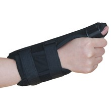 цена на Tendon sheath thumb fracture fixation wrist sprain fracture protector safety protection support wrist brace splint