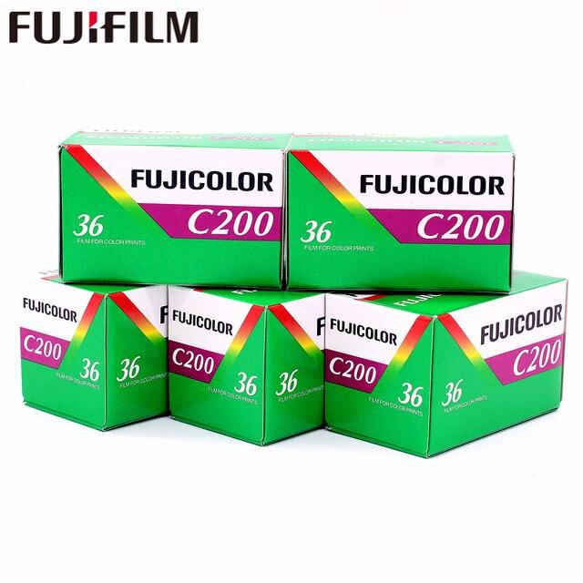 5 рулонов Fujifilm Fuji Цвет C200 Цвет 35 мм фильм 36 экспозиции для формата 135 Holga 135 BC ломо