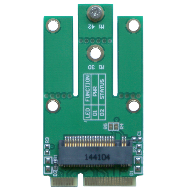 mini PCIe to A E Key NGFF Wifi AC Dual Band 2.5 5G Wireless Network Card Adapter