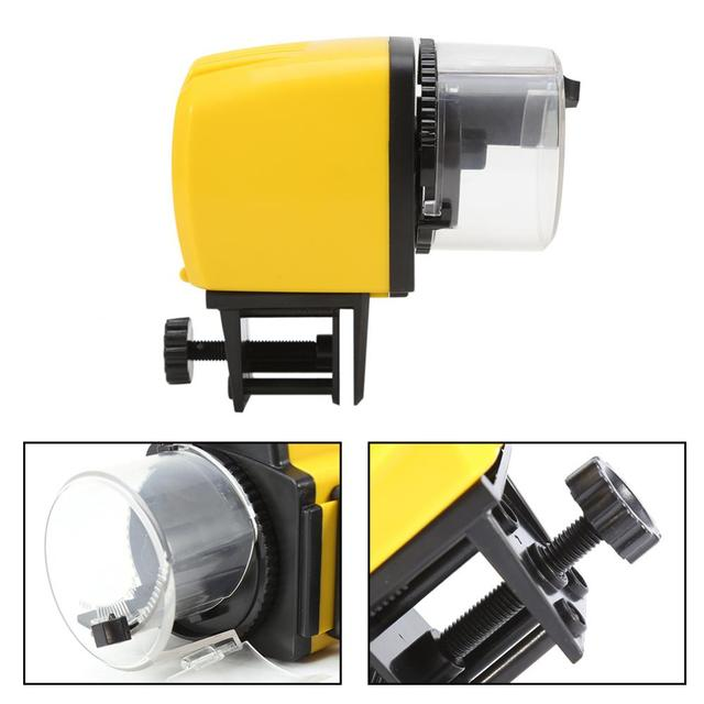 1PC Digital Automatic Fish Feeder with Timer 2