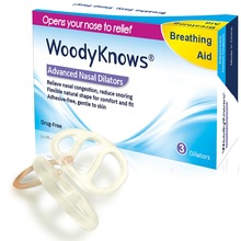 WoodyKnows Nasal Dilators (1st Generation), Anti Nose Congestion Snorking Snore Relief Sleep Apnea Puste Højre Ingen Nasal Strips